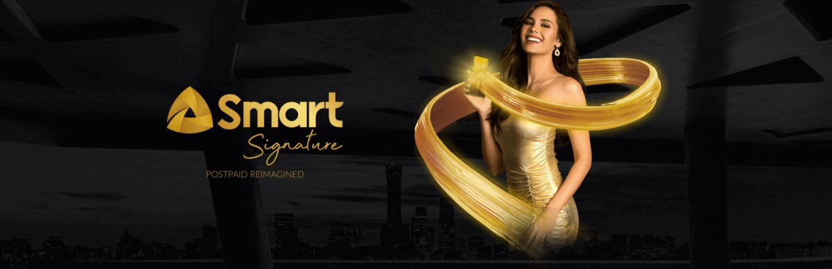 Miss Universe Catriona Gray is the face of the new Smart Signature Plans
